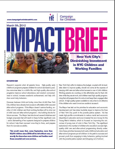 Impact Brief - March 5th