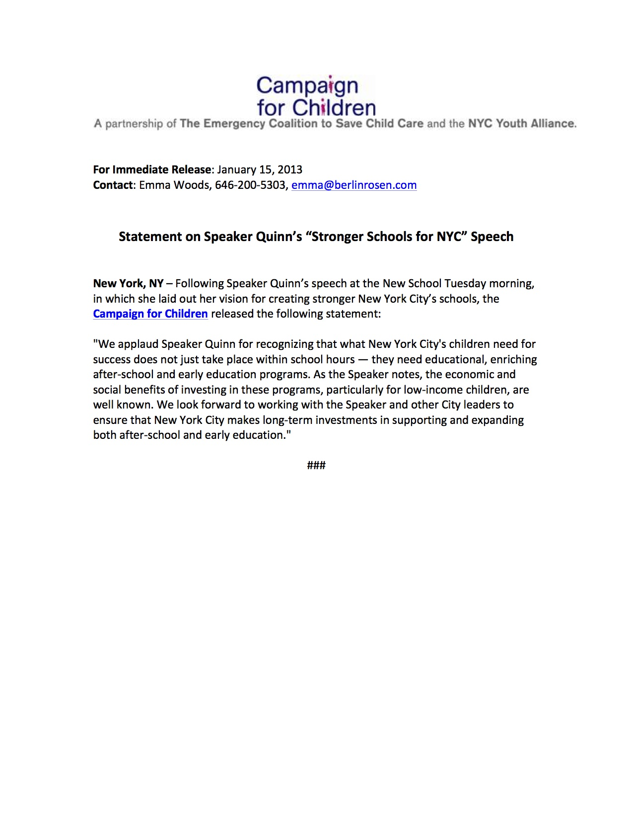 Mayor Speech For Kids | just b.CAUSE