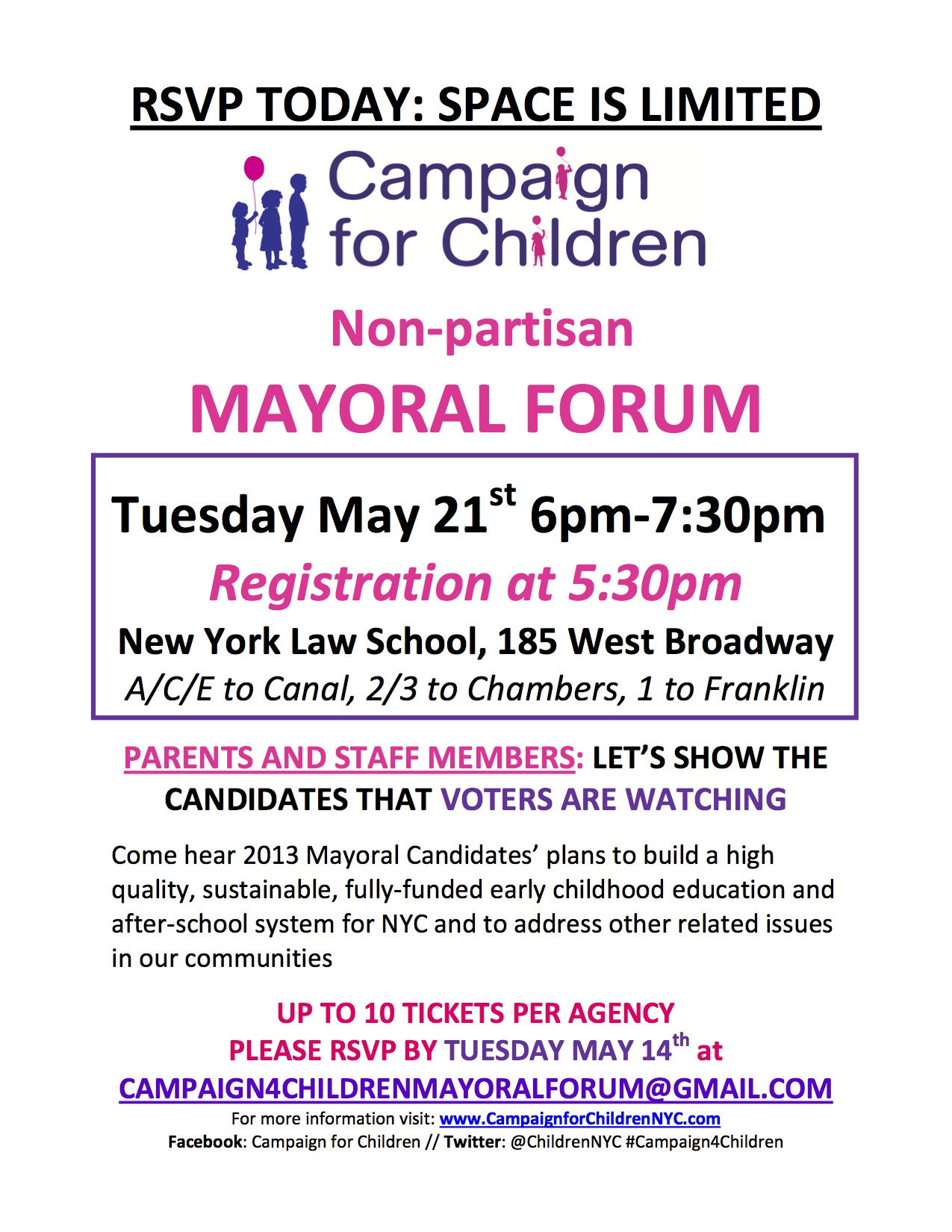 Mayoral forum Save the Date 5-21 copy copy